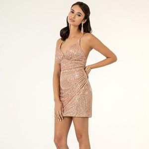 Sweethearted Sequin Bodycon Dress GS1910